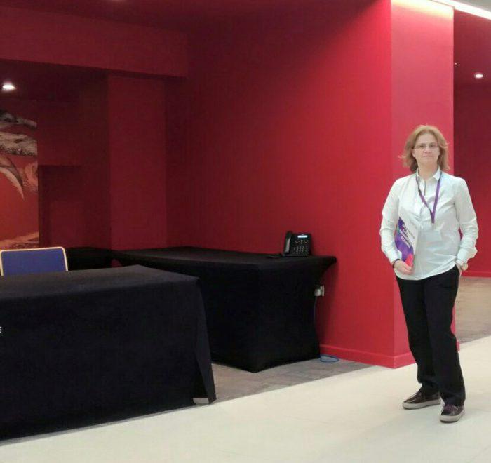 Glykeria Samolada at Wellcome Genome Campus