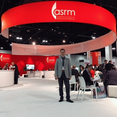 Nikos Christoforidis at ASRM annual conference