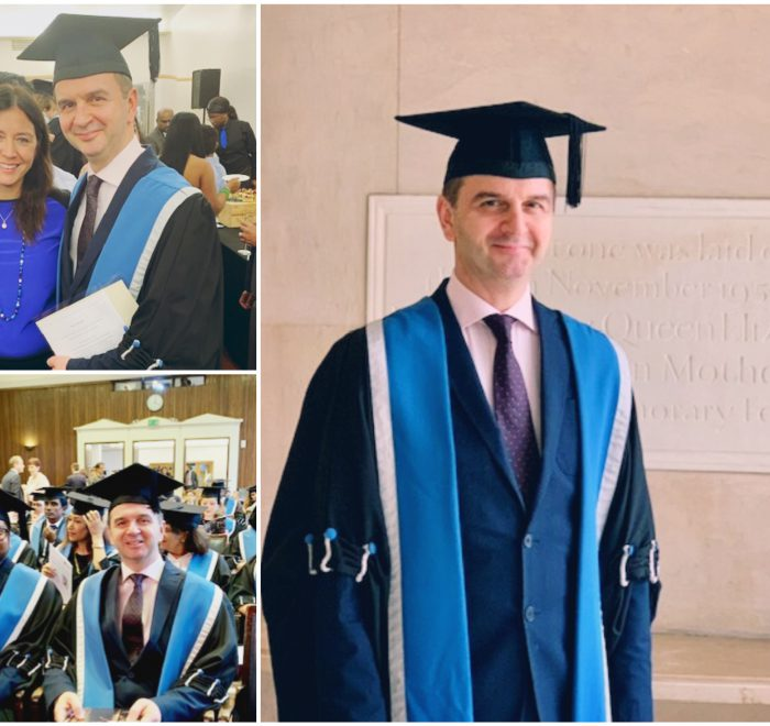 Dr. Nikos Christoforidis was awarded the Fellow of the Royal College (FRCOG)